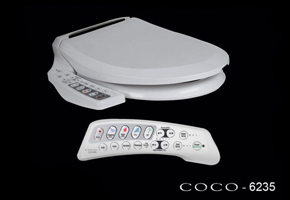 The Coco 6235R Toilet Seat Bidet