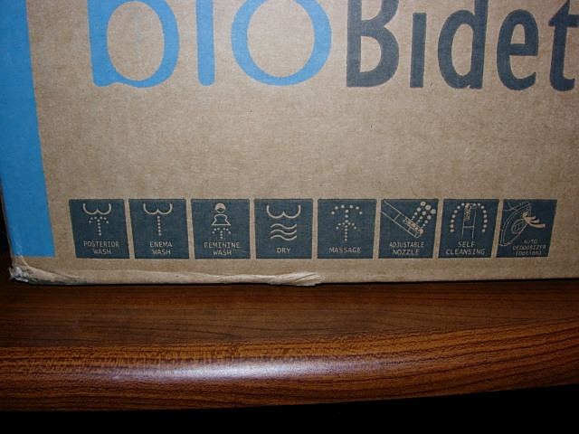 Bio Bidet BB-800 Box