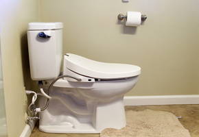 Side View of Coway BA-13 Bidet